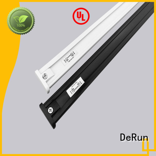 DeRun commercial aluminum track for led strip lighting factory for restaurant