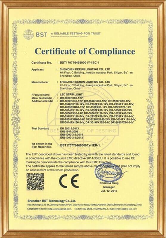 Derun 76468 (CE-EMC certificate)