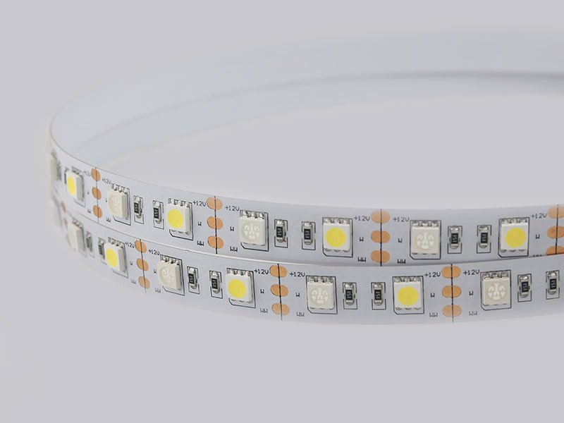 Flexible 16.4' 72W 300 Diodes IP20 White+Blue Color LED Strip Light DR-5050FX60-12V