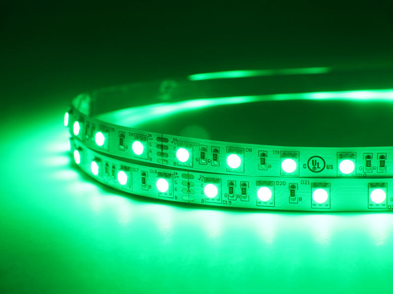 Flexible 16.4' 300 Diodes RGB LED Strip Light - DR-5050FX60-24RGB