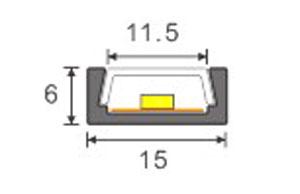 DeRun hot-sale led strip diffuser for cabinet-4