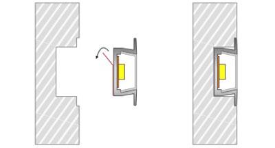 DeRun hot-sale led strip diffuser for cabinet-7
