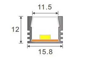 hot-sale led strip diffuser profile for building-4