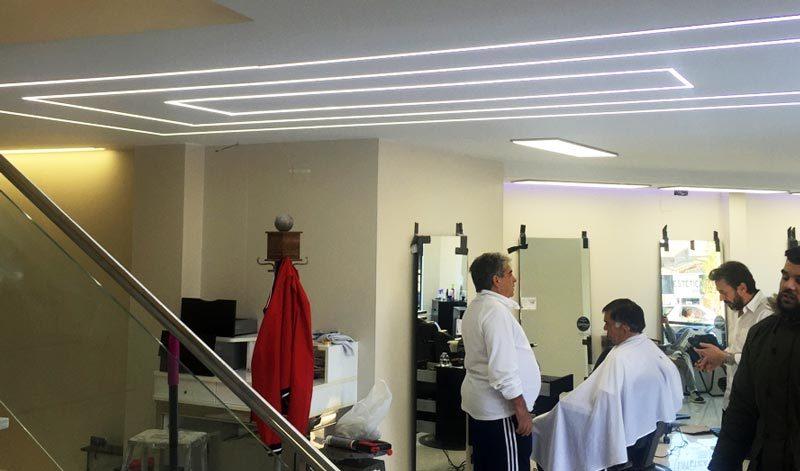 Barbershop in California USA