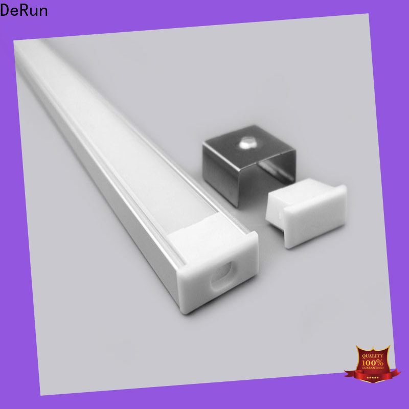 DeRun new-arrival led aluminum channel free design for cabinet