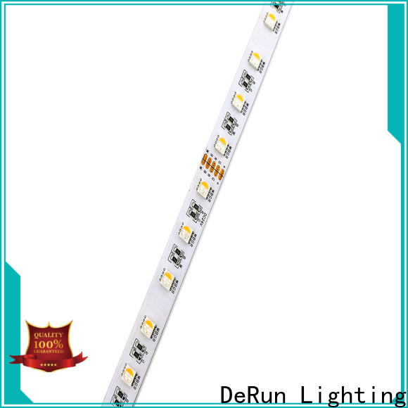 DeRun scientific rgbw led strip light producer for signboard