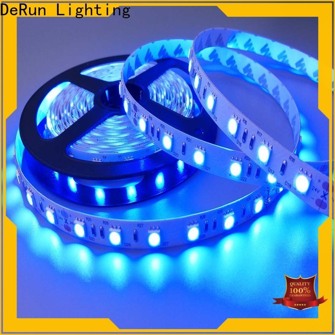 DeRun effective amber led strip supply for entry