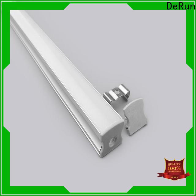 DeRun low cost led aluminum channel bulk production for office