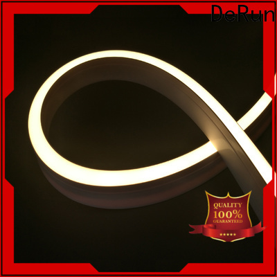 DeRun two-color neon rope light buy now for restaurant