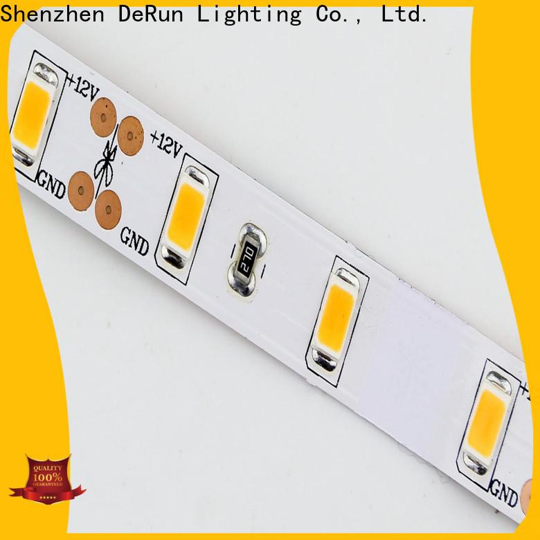 DeRun adjustable coloured led strip lights producer for wedding