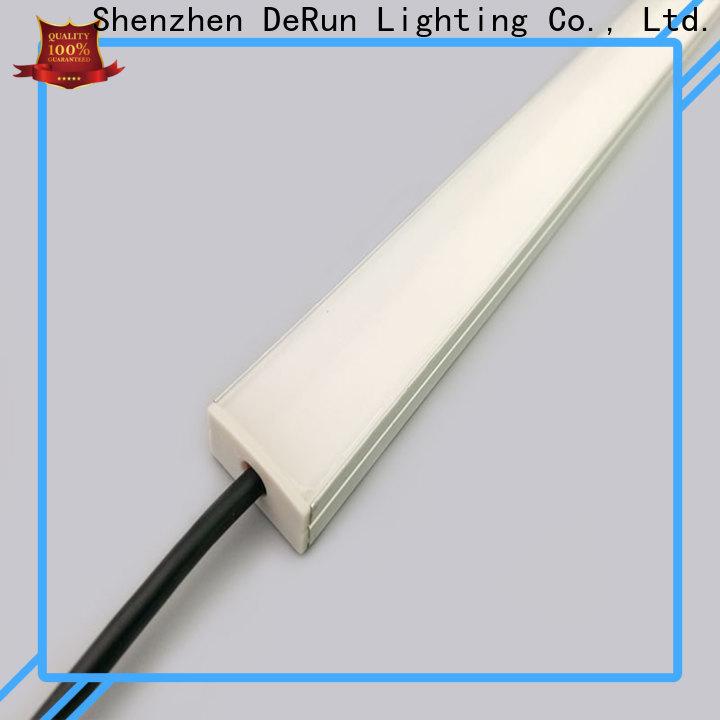 DeRun newly linear lighting free design for kitchen island