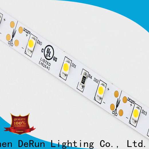 DeRun strip warm led strip lights vendor for wedding