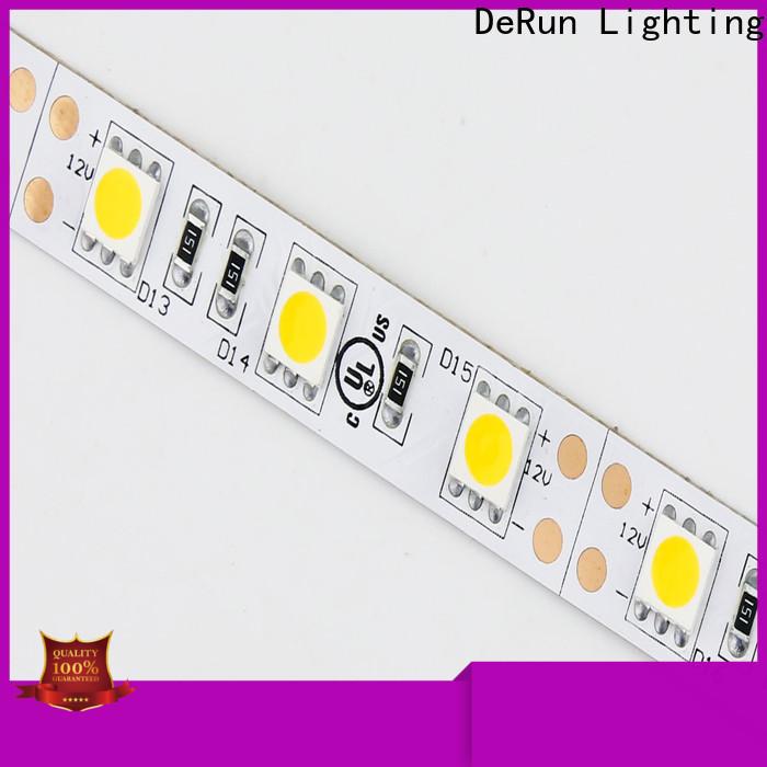 DeRun hot-sale color led strip light producer for entry