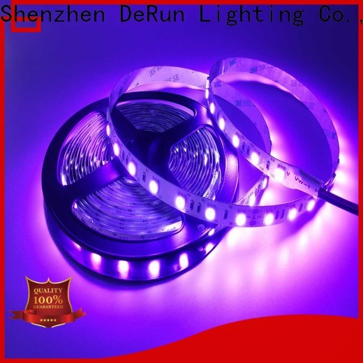DeRun high efficiency uv led strip long-term-use for exhibition