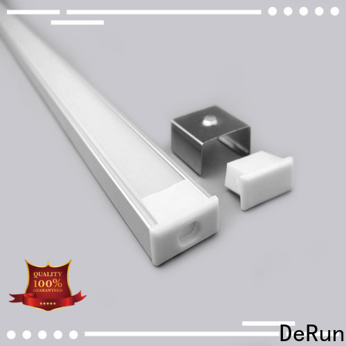low cost led strip diffuser profiles bulk production for building