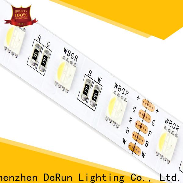 DeRun useful rgbcct led strip supply for foyer