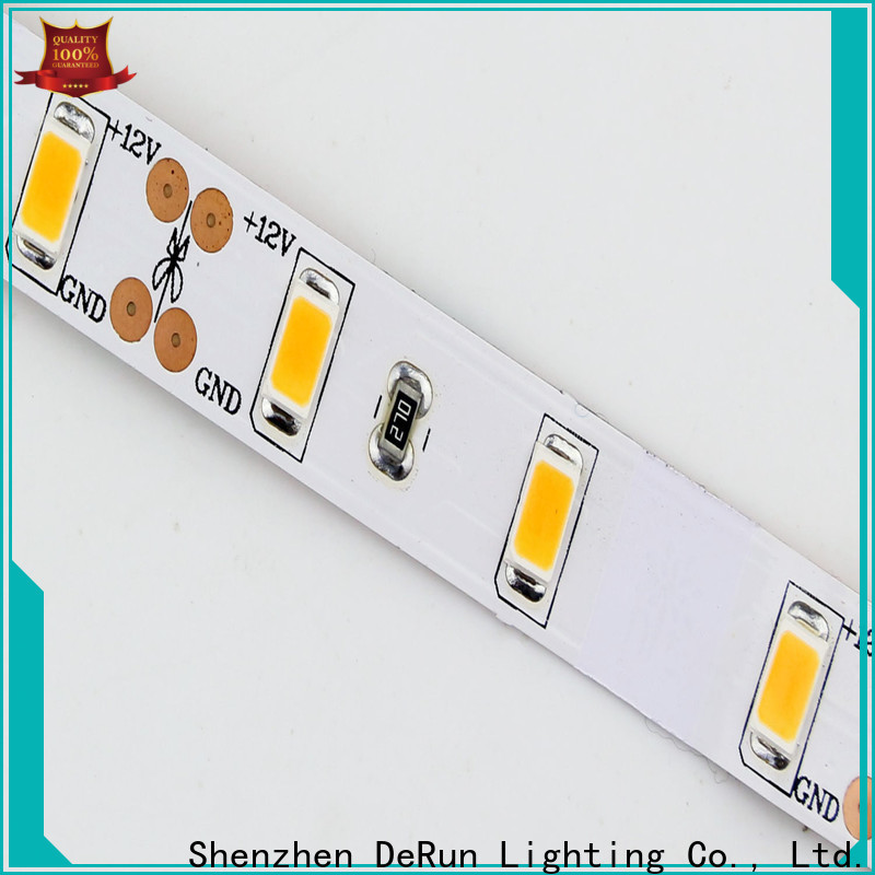 DeRun diodes color led strip light supplier for entry