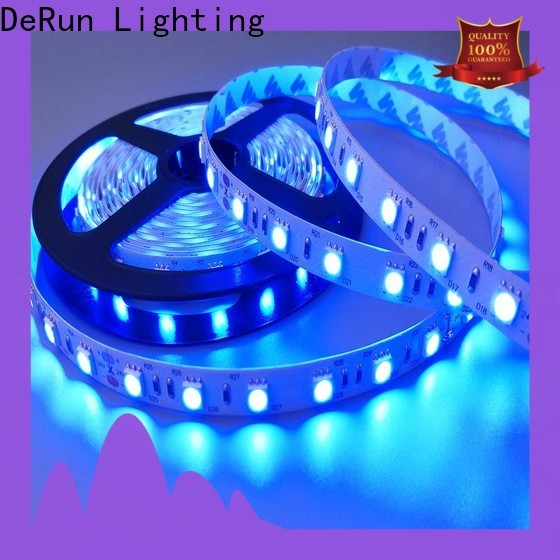 DeRun newly pink led strip light certifications for entry