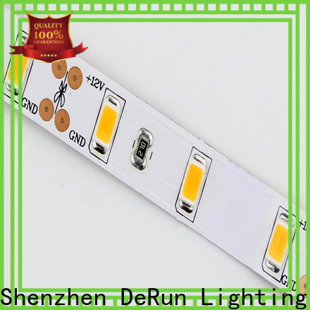 DeRun high efficiency warm led strip lights manufacturer for restaurant