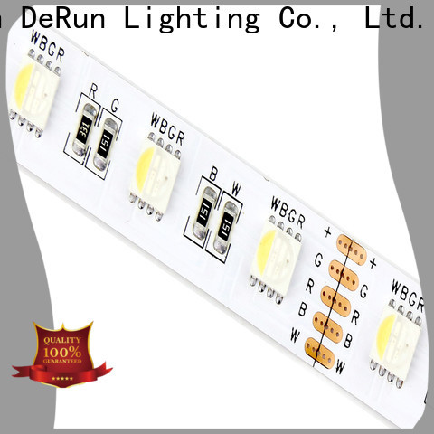 DeRun safety rgb led strip wholesale for decoration
