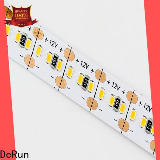 DeRun flexible color led strip light wholesale for party