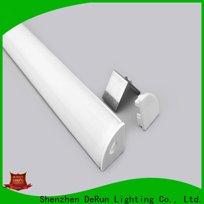 commercial led strip diffuser profile bulk production for counter