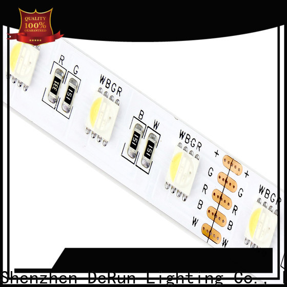 DeRun diodes rgbw led strip light wholesale for entry
