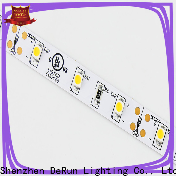 DeRun effective color led strip light factory for hallway
