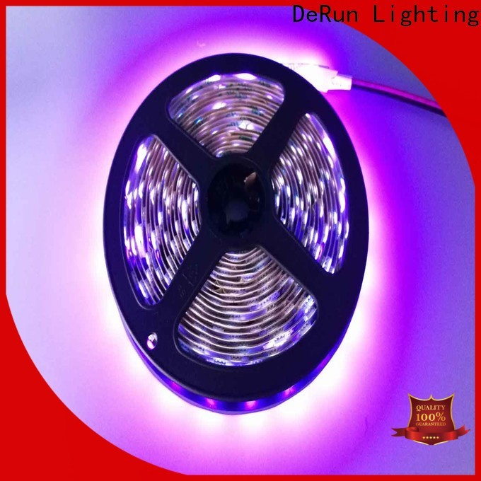 DeRun low cost pink led strip light for restaurant