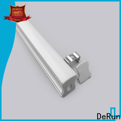 DeRun virtually led aluminum profile from manufacturer for cabinet