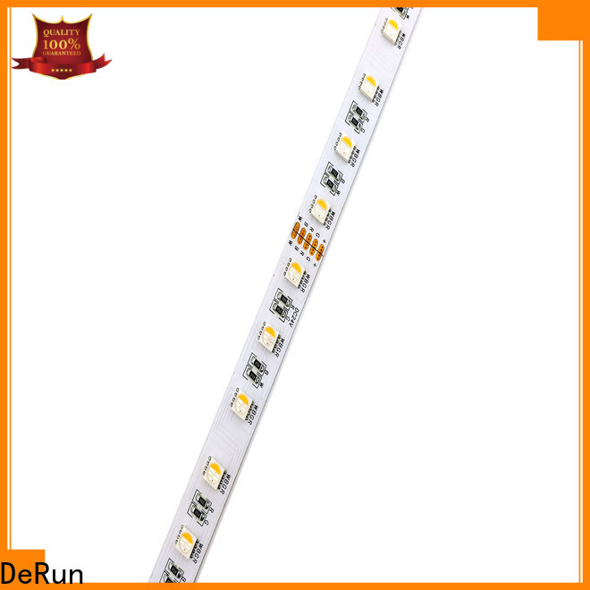 DeRun high-quality rgbw led strip light factory for cabinet