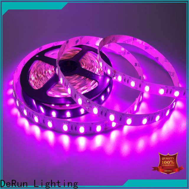 DeRun amber pink led strip light long-term-use for hallway