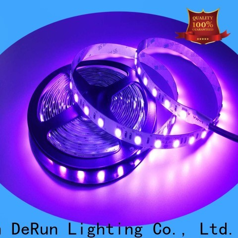 DeRun customizable pink led strip light certifications for party
