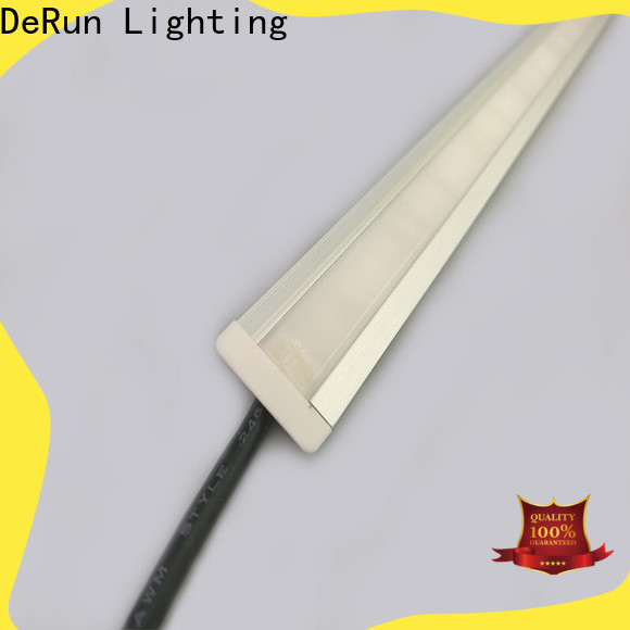 DeRun temperature linear led lighting from manufacturer for foyer