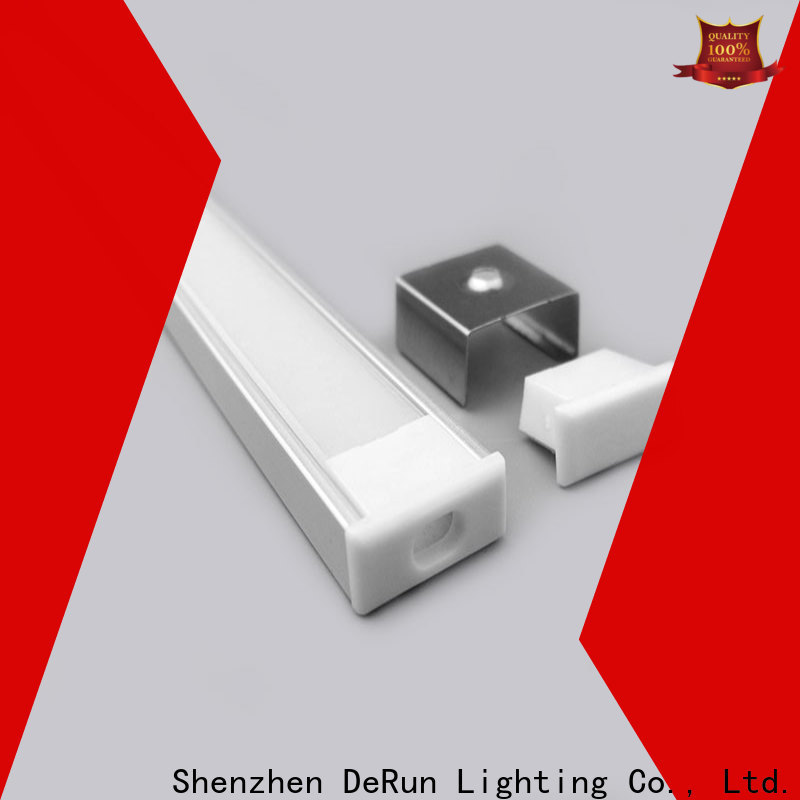 DeRun first-rate led aluminum profile free design for home