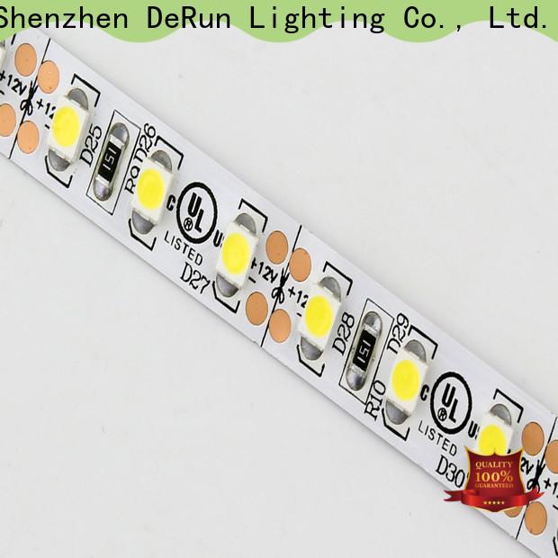 DeRun different coloured led strip lights manufacturer for hallway