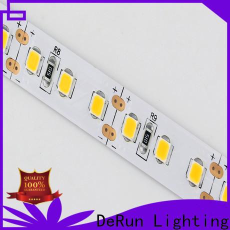 DeRun adjustable warm led strip lights producer for hallway
