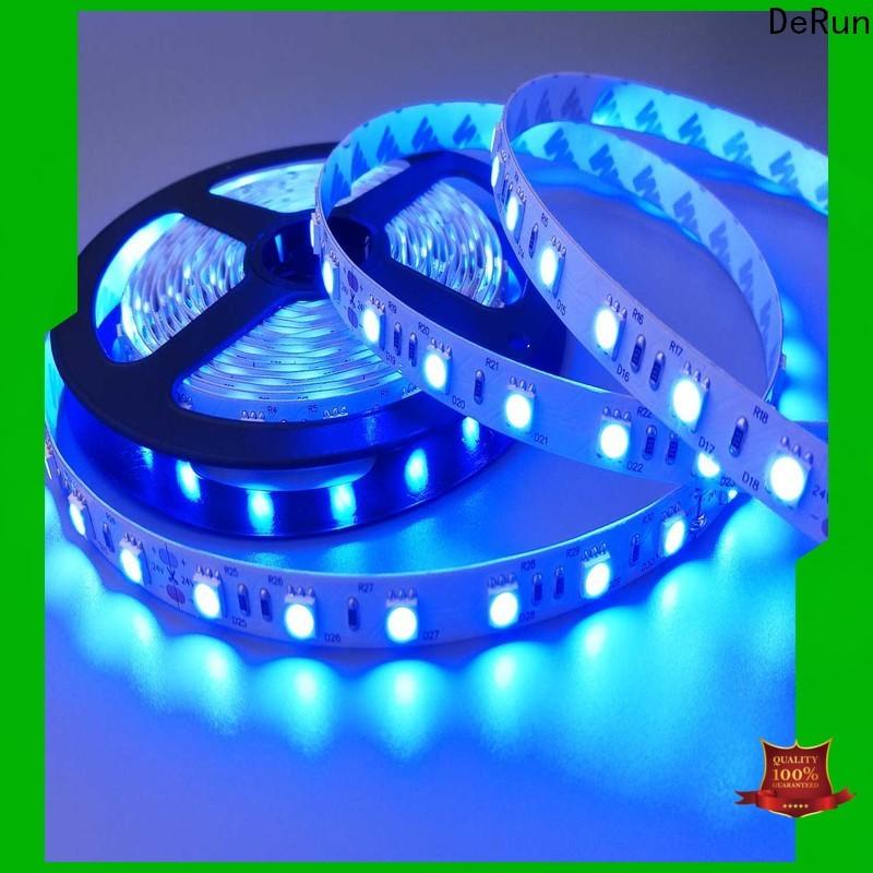 DeRun best pink led strip light supply for bar
