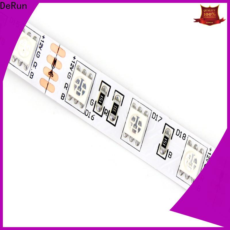 DeRun fine- quality rgb led strip supply for restaurant