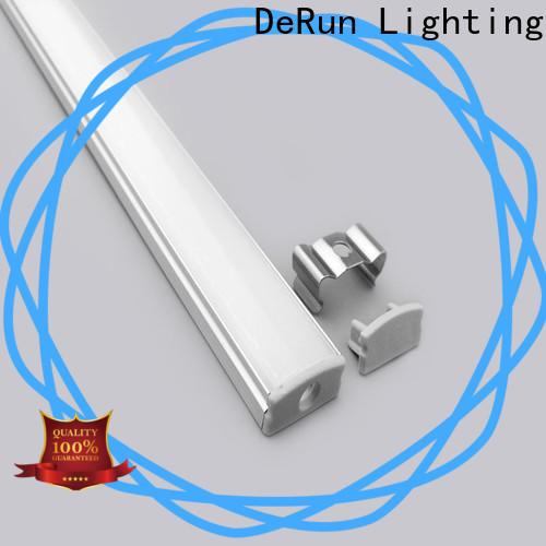 DeRun profiles led strip diffuser free design for signboard