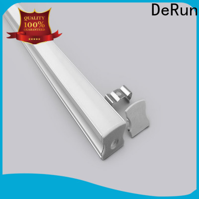 DeRun effective led aluminum profile from manufacturer for signboard