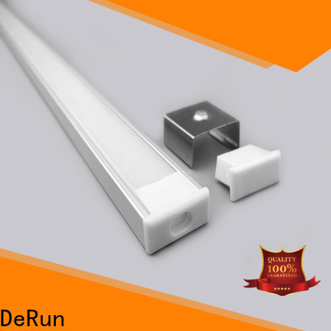 DeRun profile led strip diffuser from manufacturer for home