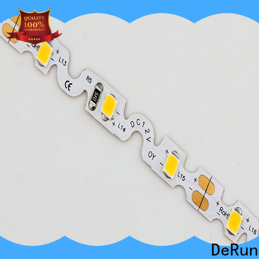 DeRun strip coloured led strip lights vendor for entry