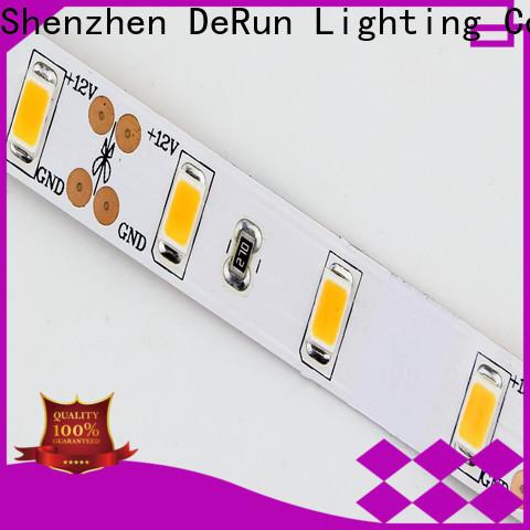 DeRun adjustable coloured led strip lights producer for bar