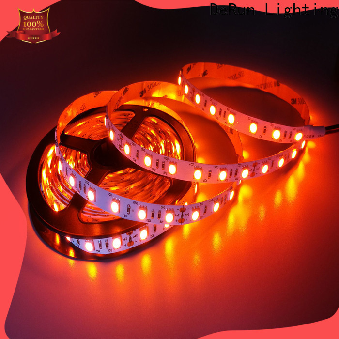 DeRun low cost pink led strip light free quote for room