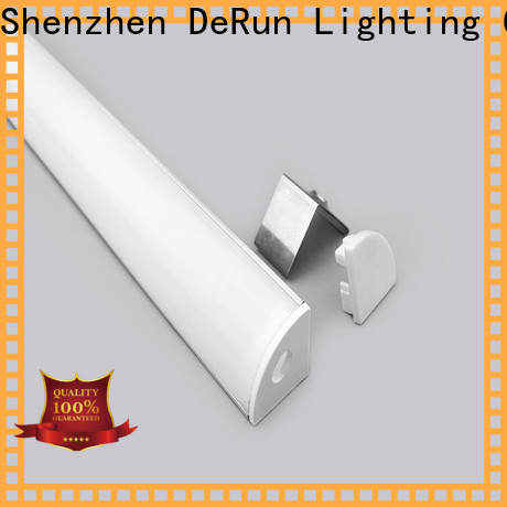 DeRun effective led strip diffuser factory price for cabinet