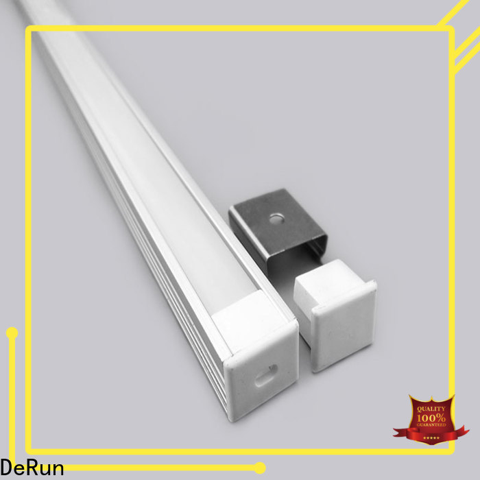 DeRun new-arrival led aluminum channel long-term-use for building