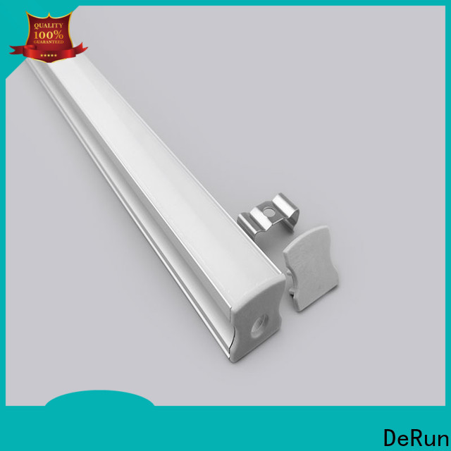 DeRun commercial led aluminum channel for counter
