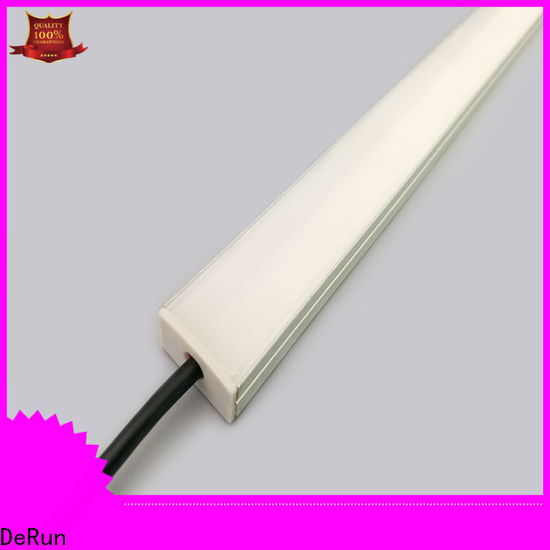 DeRun durable led linear light bulk production for foyer