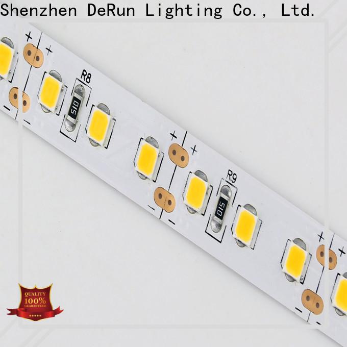 DeRun led coloured led strip lights producer for foyer